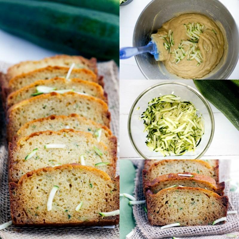 Greek Yogurt Zucchini Bread