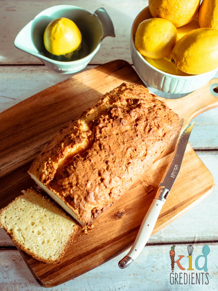 Lemon & Coconut Yogurt Loaf