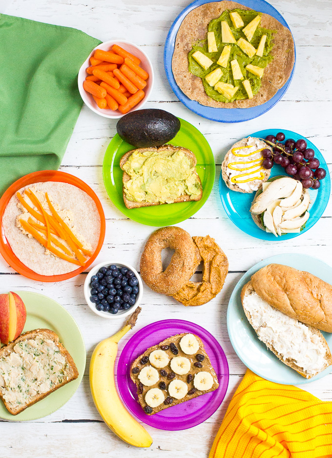 Healthy-school-lunch-ideas-sandwich-spreads-3