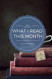 What I Read Book List - July Edition