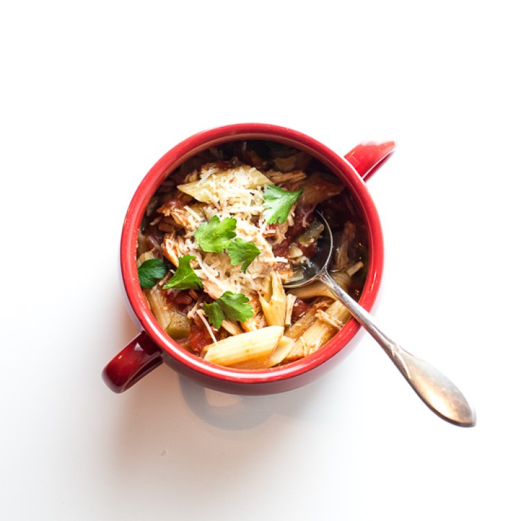 Soups Stews Fall Comfort Collection - Chicken Parm Soup