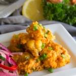 Gluten Free Spicy Lobster Bites
