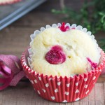 Cream Cheese Cranberry Muffins {with video}