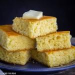 Homemade Yellow Corn Bread