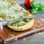 Cheesy Pesto Bread