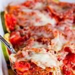 Zucchini Mozzarella Casserole