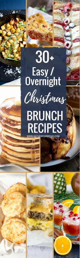 easy made ahead christmas brunch recipes gather for bread