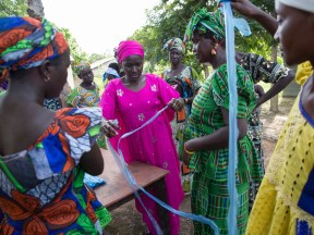 Isatou Ceesay and the recycling women of Gambia