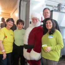 Santa made an appearance at the New Orleans Mission in 2012