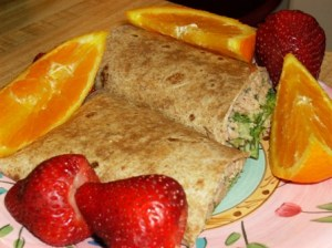 Tuna Wheat Wrap