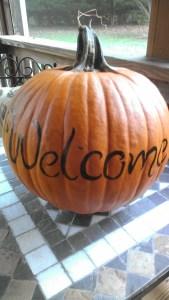 Pumpkin finished