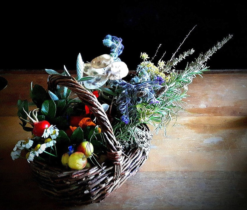 Crafting A Prosperity Basket