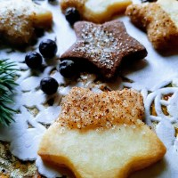 Aromatic & Spicy Juniper Berry Sugar Stars