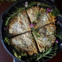 Rosemary Oat Bannock For Imbolc