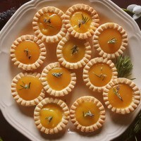 "Rosemary & Lavender Lemon Curd ""Tassies"": Here Comes The Sun!"