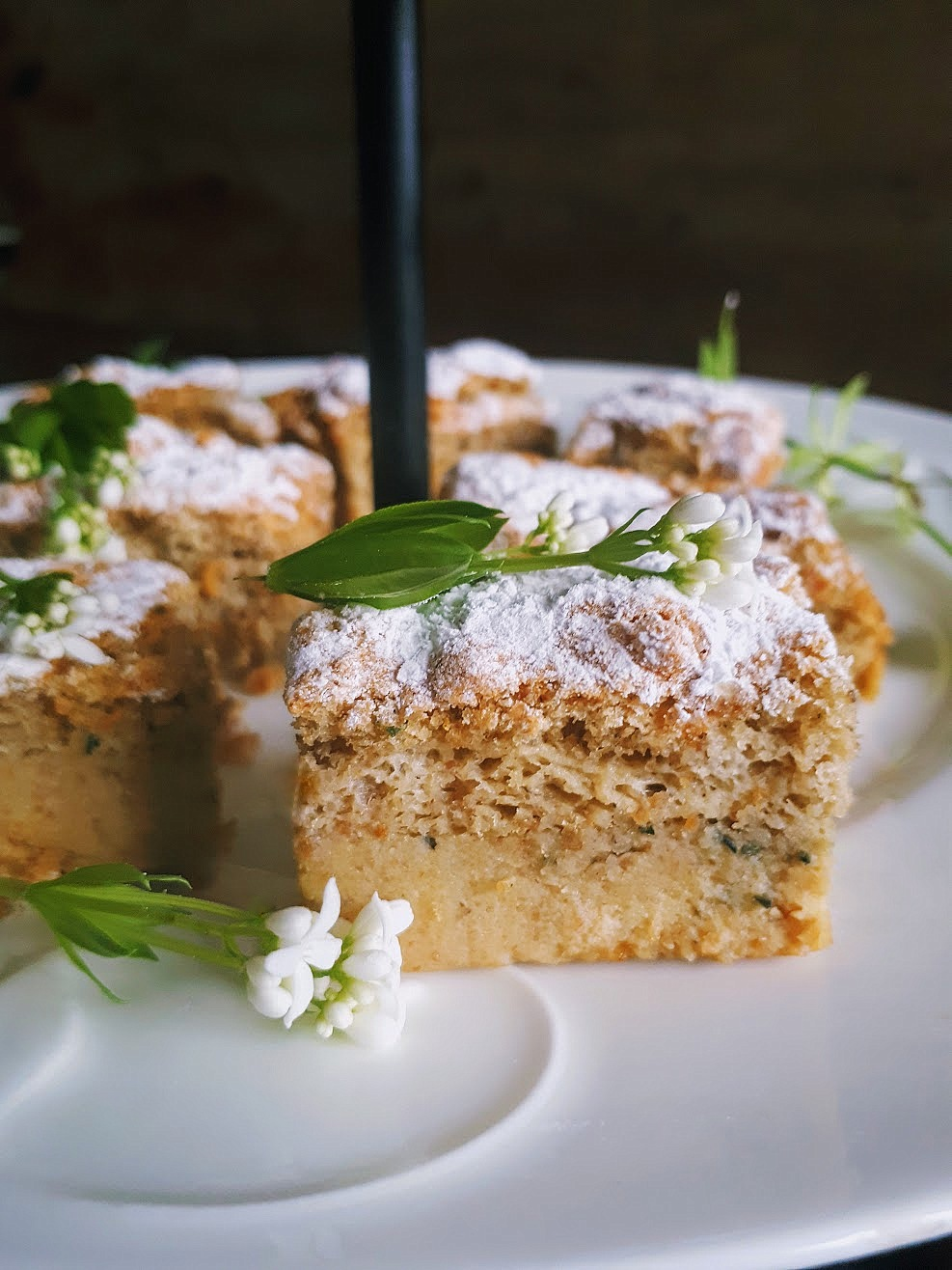 Spellbinding Sweet Woodruff Cake: Prosperity Magic — gather