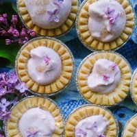 Spell-Binding Fairy Beauties: Lilac Cream Tarts