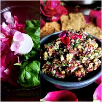 Chunky Rose Petal Pesto: Summer Savour