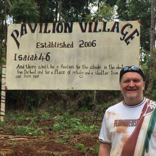 Drew Leitch in Kenya