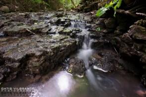 Bukupes ūdenskritums. Bukupe waterfall.