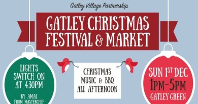 Christmas is Coming . . . Today on Gatley Green from 1pm