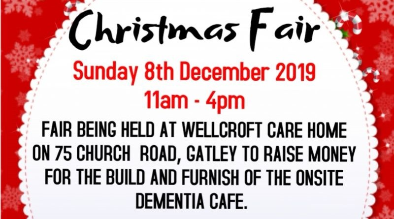 Wellcroft Christmas Fair