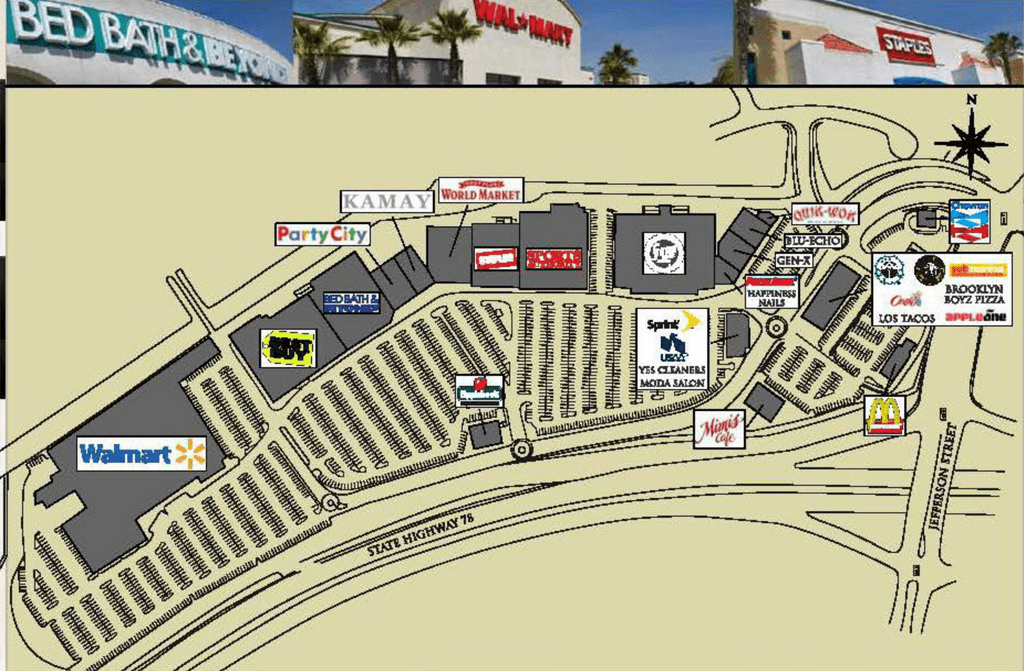 Oceanside Ca Past Projects Pacific Coast Plaza  Retail