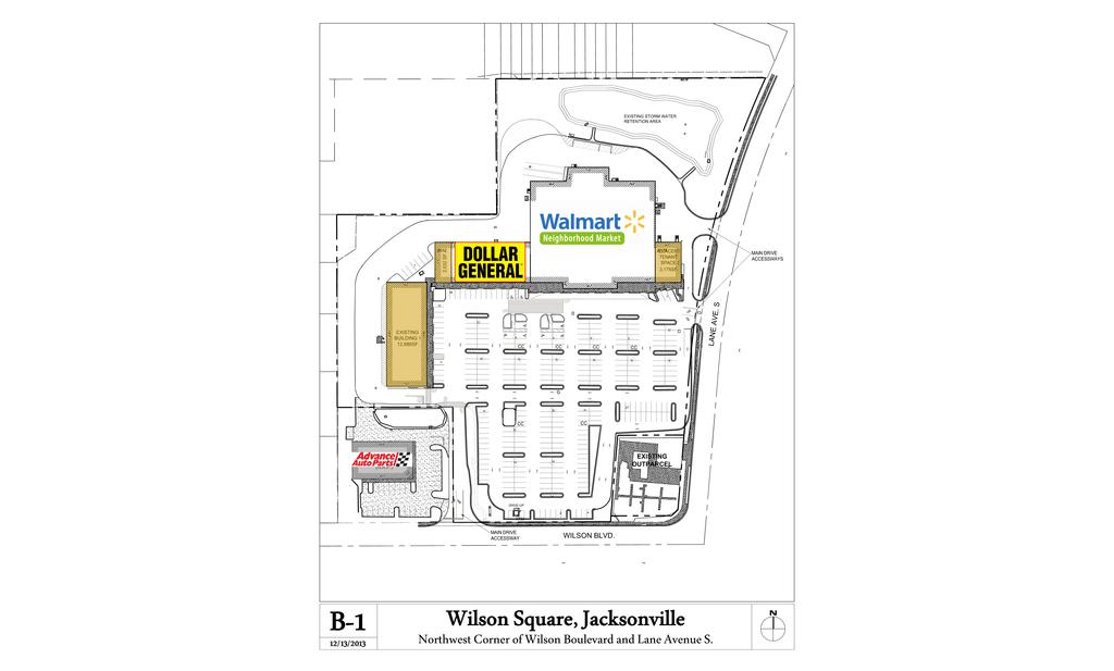 Jacksonville Fl Fl Wilson Square Shopping Center