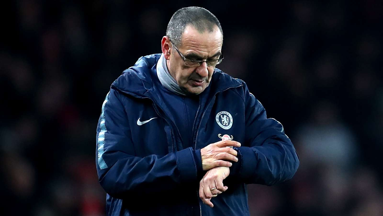 Luck took us to the final – Sarri
