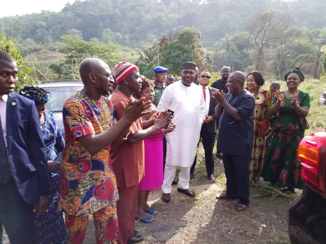 Hope rises for Enugu State Games Village, as Gov. Ugwuanyi visits abandoned facility