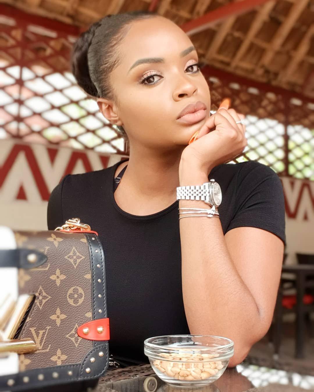 Dillish Matthews Shares Cute Videos with Beau Emmanuel Adebayor