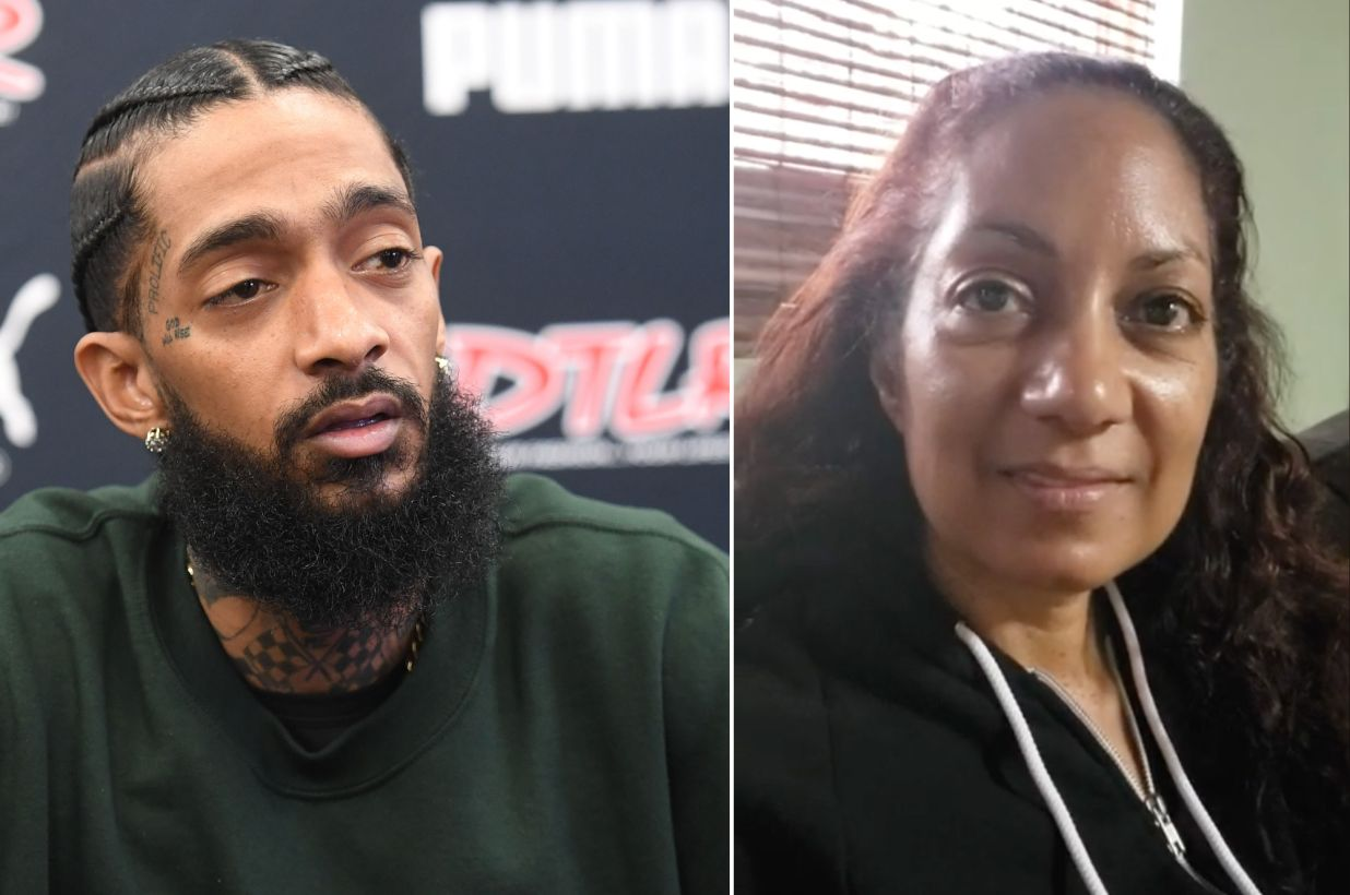 Nipsey Hussle's mother shares the last text messages he sent her