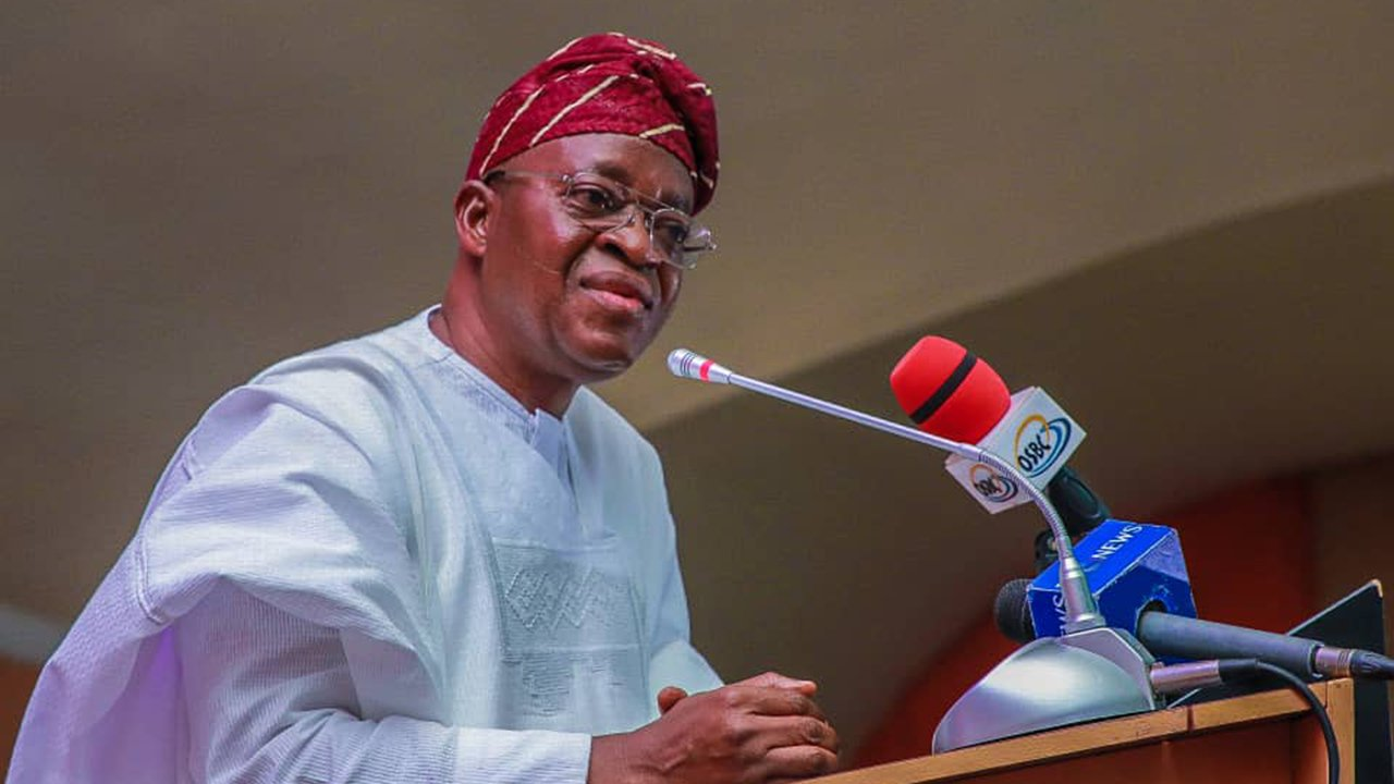 Kidnappings: Osun is donating 20 APCs to Western Nigeria Security – Gov. Oyetola