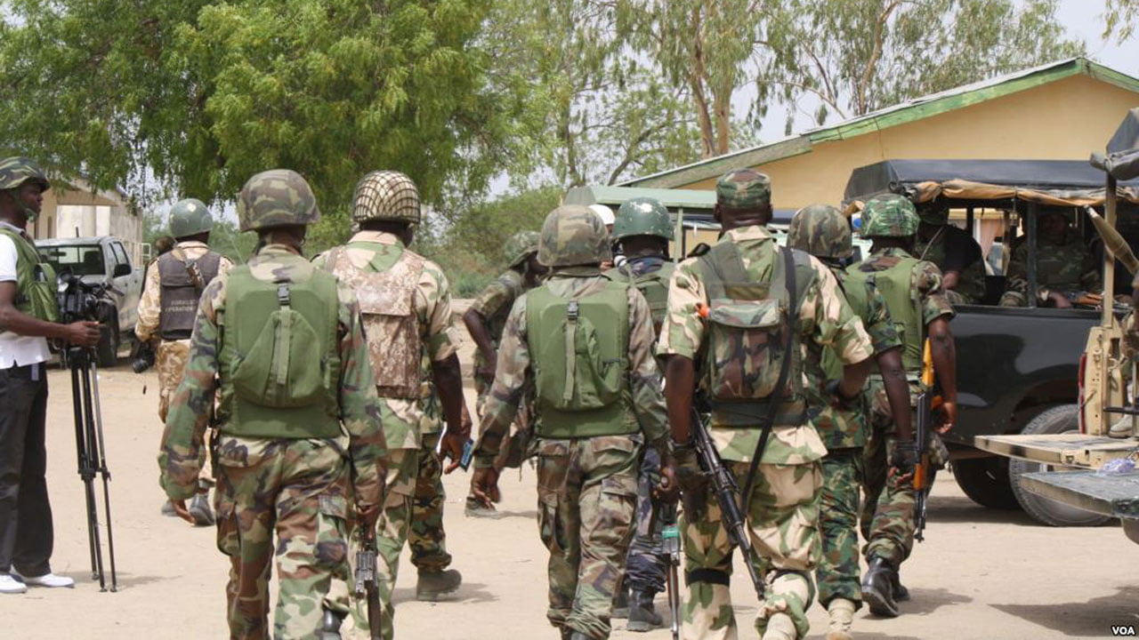 Military kill seven bandits, recover ammunitions, cattle