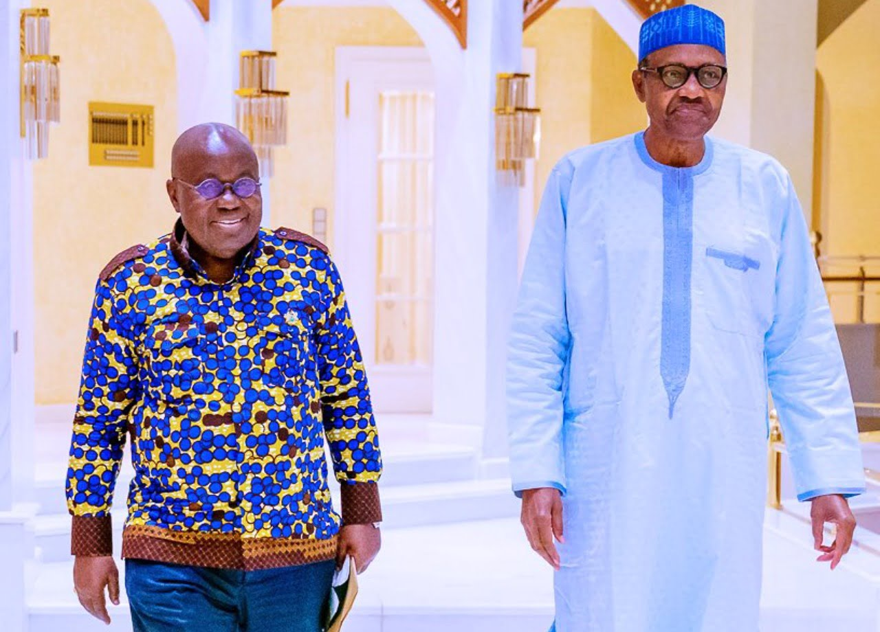 End SARS: Details of Ghana president, Akufo-Addo's conversation with Buhari revealed