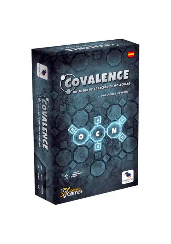Covalence - El juego de construcción de moléculas