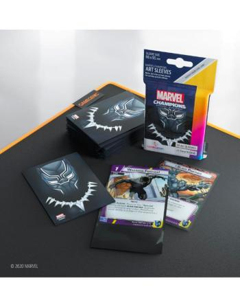 Marvel Champions: Black Panther Sleeves