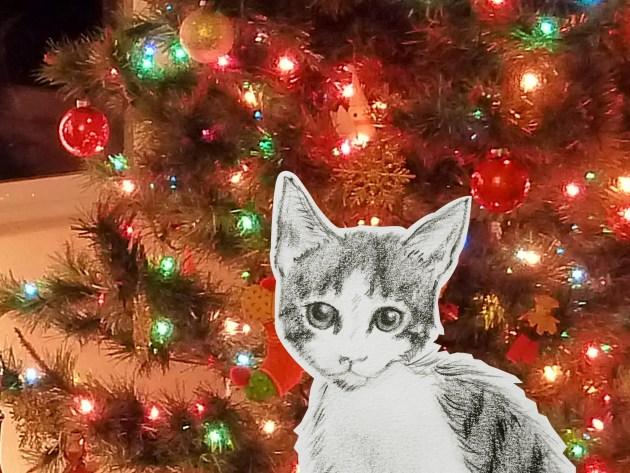 El árbol me lleva tentando desde mi primera Navidad.