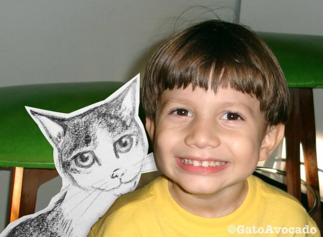 Dani y Gato. Kids and Cats 2