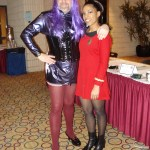 Twilight Sparkle and Paulette Guillory-Gardner as a Starfleet officer.
