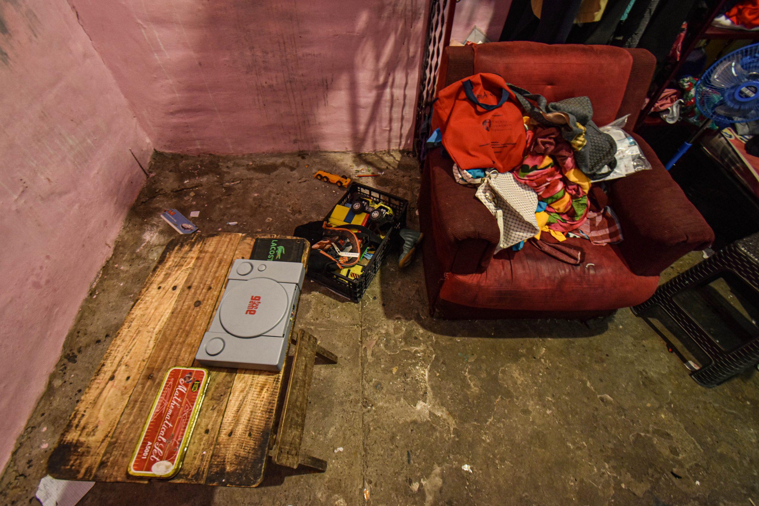 El crimen se cometió en su habitación, a unos metros de donde dormían su hija y su hijo. Foto/Emerson Flores