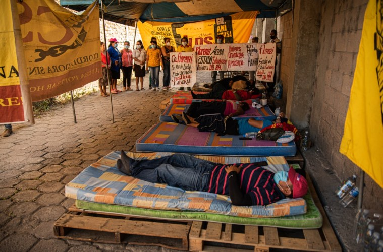 Trabajadoras de Florenzi se van a huelga de hambre para exigir justicia