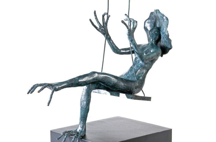 LOLA, 2013. Elaborada por la escultora salvadoreña, Titi Escalante. Foto: E. Fuentes/ archivo J. Palomo.