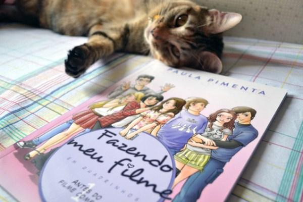Fazendo Meu Filme Em Quadrinhos - Antes do Filme Começar - Vol. 1 - livro - resenha - Paula Pimenta (1)