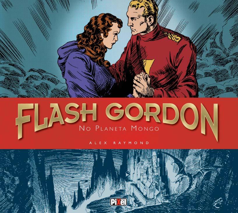 Pixel Media lança coleção histórica de Flash Gordon