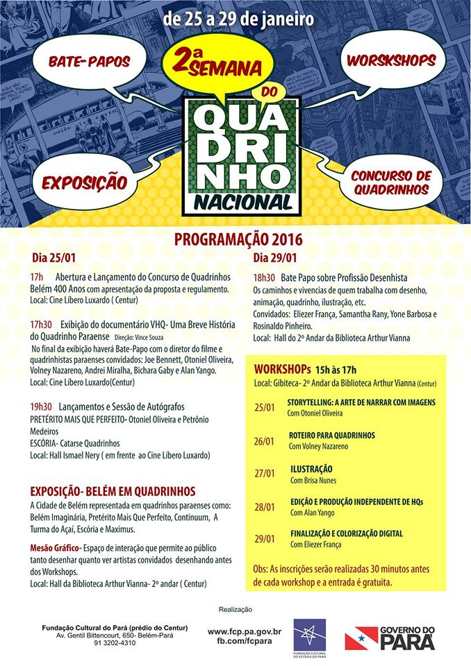 semana do quadrinho nacional 2016
