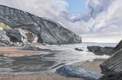 Trebarwith Strand by Lawrence Dyer