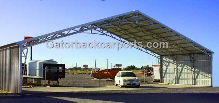 Houston Texas Commercial Metal Buildings Clear Span