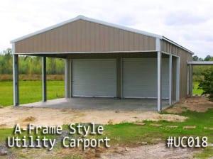 Combo Units Carports With Storage Gatorback Carports