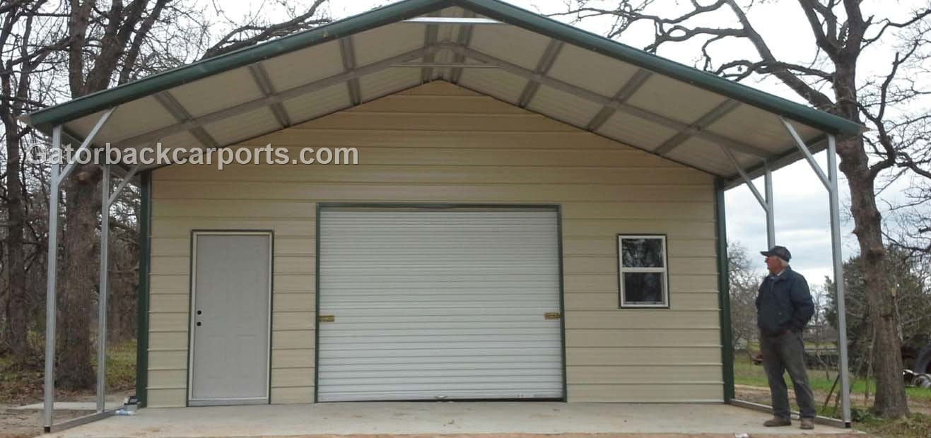 See Garage Being Built Gatorback CarPorts